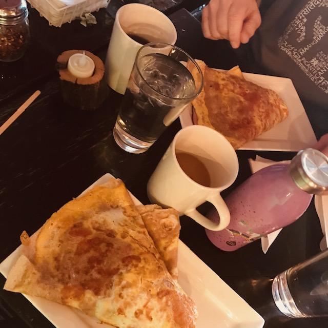 Nomad Coffee and Crepes in Ballston Spa: Coffee & Hearty Yummy Crepes